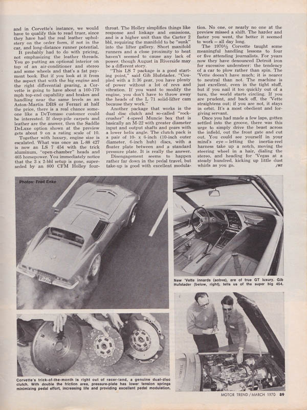 Ford Muscle Cars >> Secondhand Muscle » Blog Archive » 1970 LS7 454 Chevrolet ...